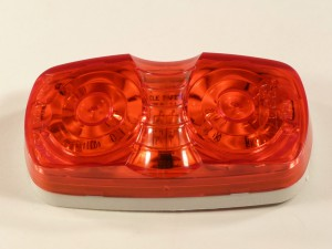DBL BULLSEYE LED RED MAR