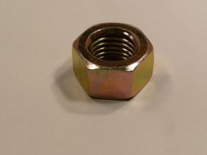 1 in  STEEL LK NUT