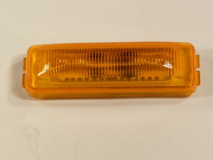 3.78 in  AMBER LED RECT. MA