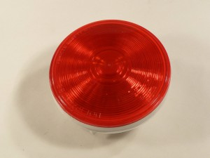 4 in RED ROUND SEALED LAMP