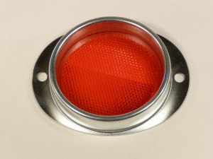 3 in  REFLECTOR RED